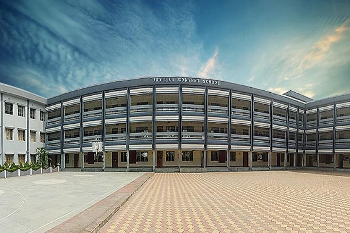 Auxilium Convent School-Campus