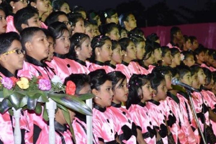 Auxilium Convent School-Singing