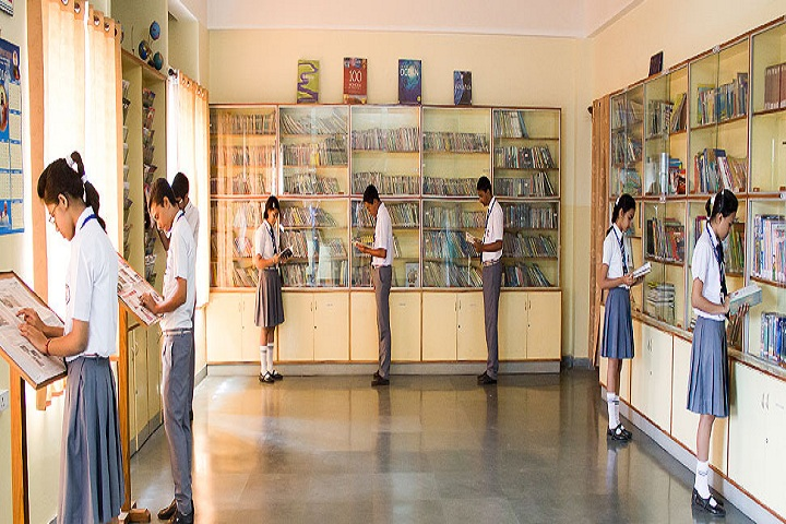 Auxilium Convent School-Library