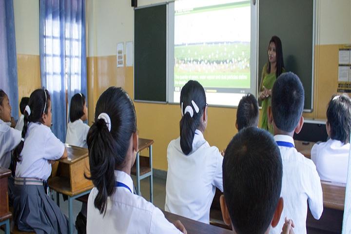 Auxilium Convent School-Smart Class