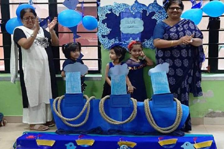 Mangalam Vidya Niketan-Blue day