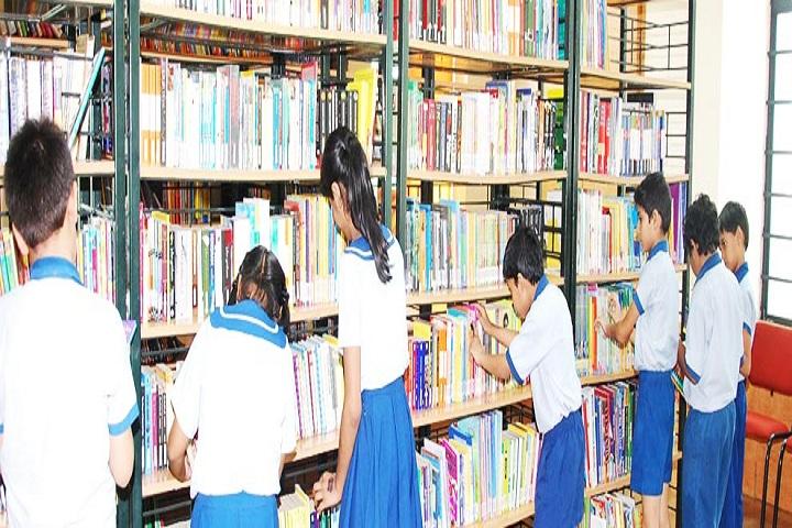 Mangalam Vidya Niketan-Library