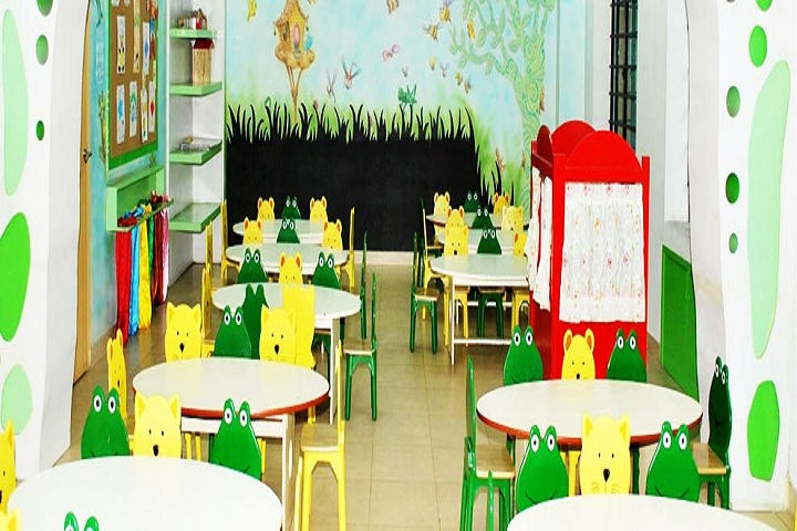 Mangalam Vidya Niketan-Pre primary classroom