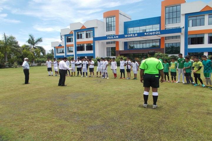 Pailan World School-Football