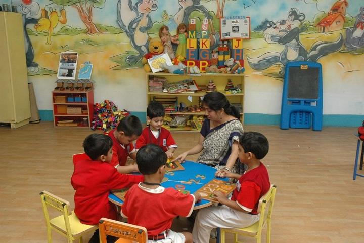 Pailan World School-Nursery Room