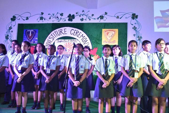 Pailan World School-Singing