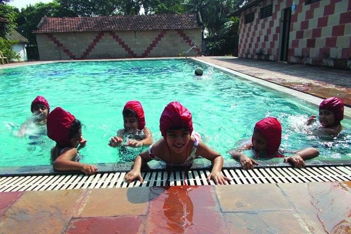 Pailan World School-Swimming Pool