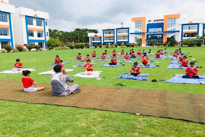 Pailan World School-Yoga