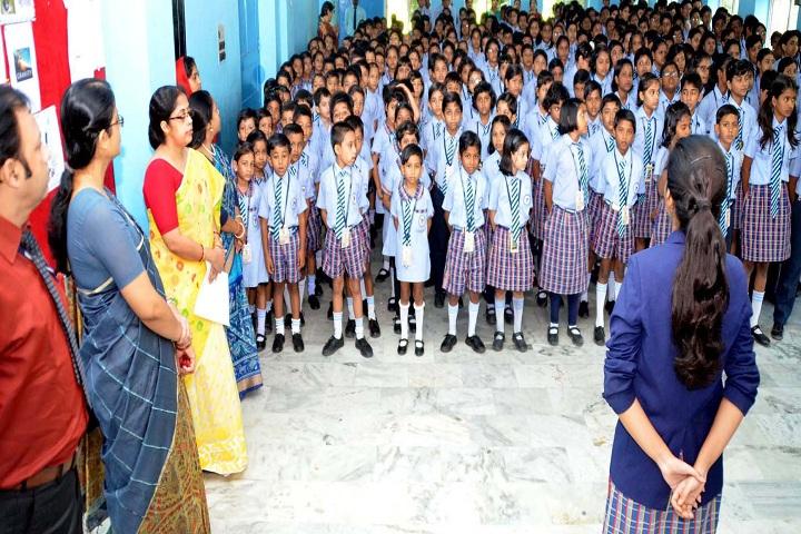 Tamralipta Public School-Assembly