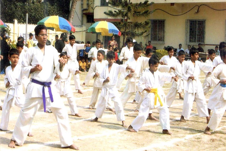 Tamralipta Public School-Karate