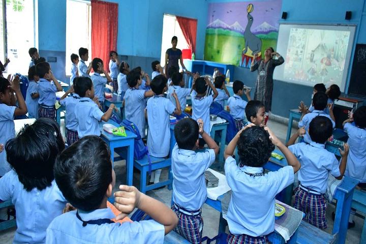 Tamralipta Public School-Smart Class Room