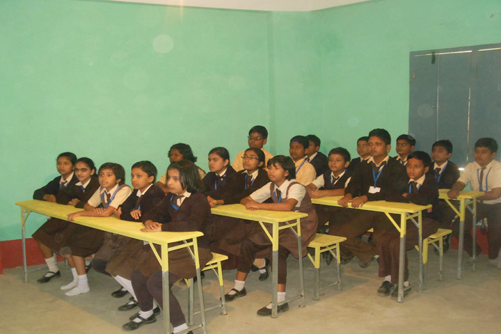 Belda English Medium School-Classroom