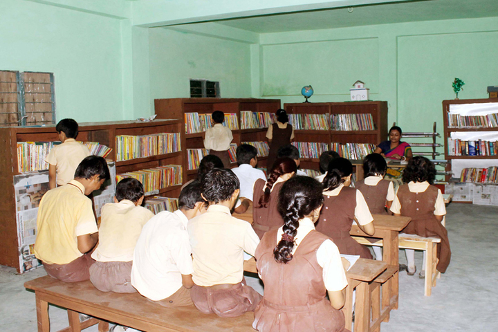 Belda English Medium School-Library