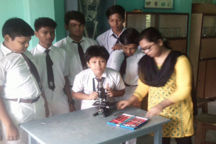 Belda English Medium School-Physics Lab