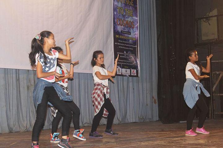 Paramount School-Dancing Activity