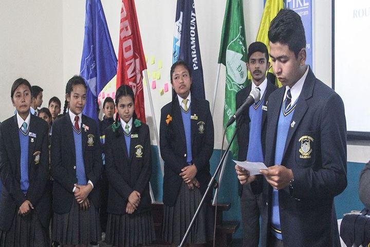 Paramount School-Investiture Ceremony
