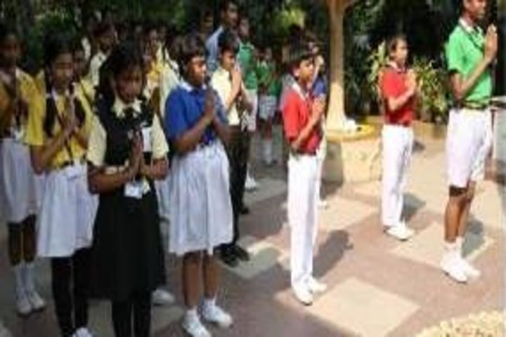 P P Memorial Academy-Morning Assembly