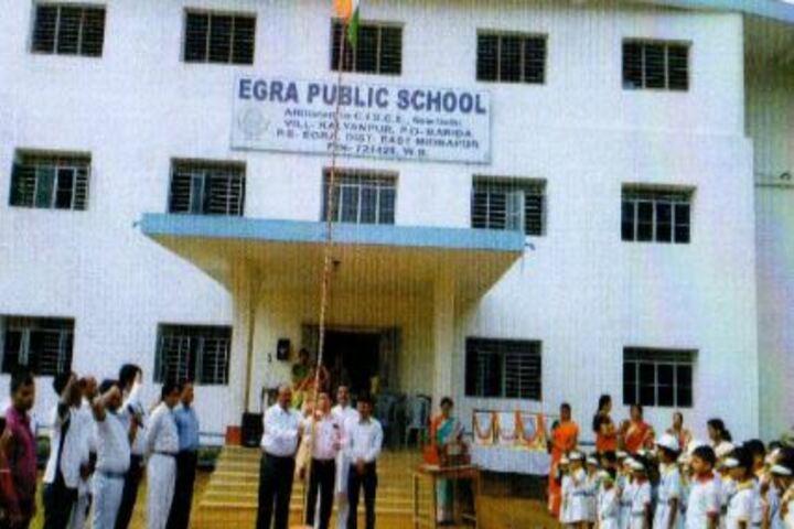 Egra Public School-Independence Day Celebrations