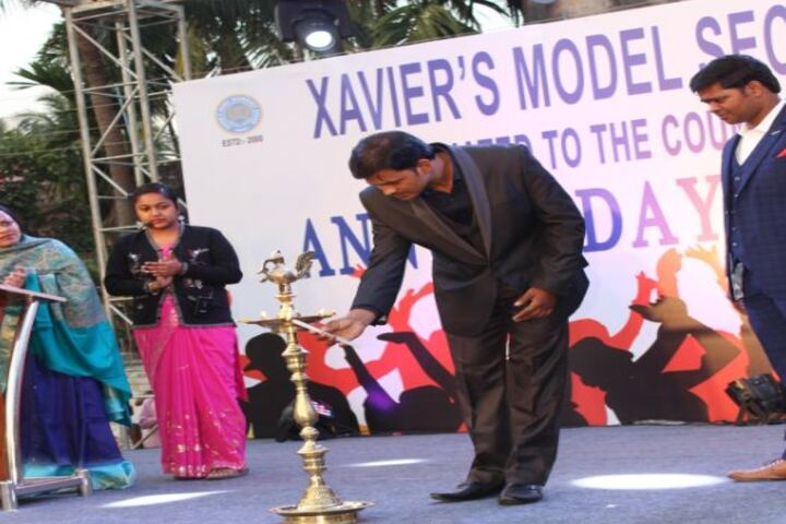 XavierS Model Secondary School-Annual Function Candle Lightening