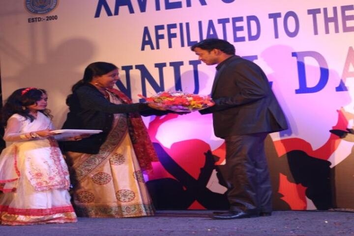 XavierS Model Secondary School-Honouring Cheif Guest