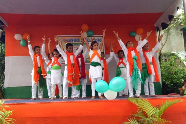 XavierS Model Secondary School-Independence Day Celebrations