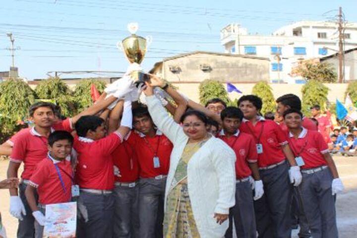 Agrasain Boys School-Felicitation