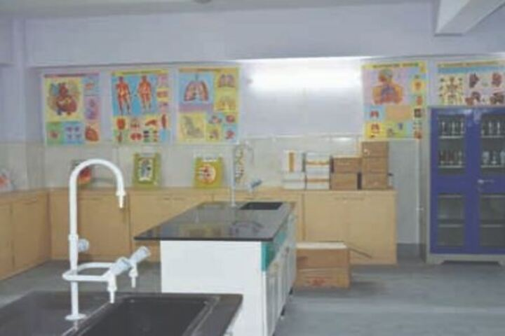 Agrasain Boys School-Science Lab