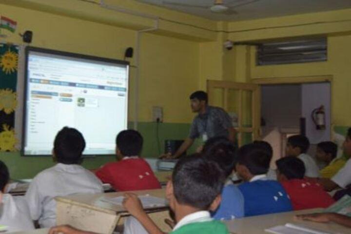 Agrasain Boys School-Smart Class Room