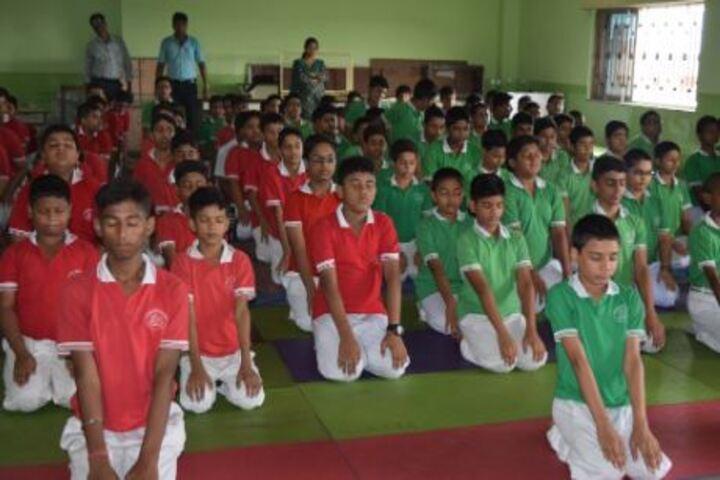 Agrasain Boys School-Yoga Day
