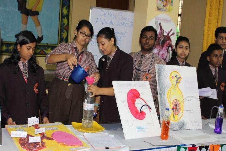 De Paul School-Annual Exhibition