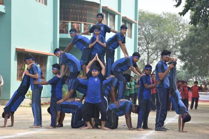 St JosephS School-Human Pyramid""