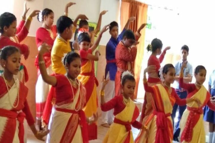 Childrens Foundation School-Cultural Dance