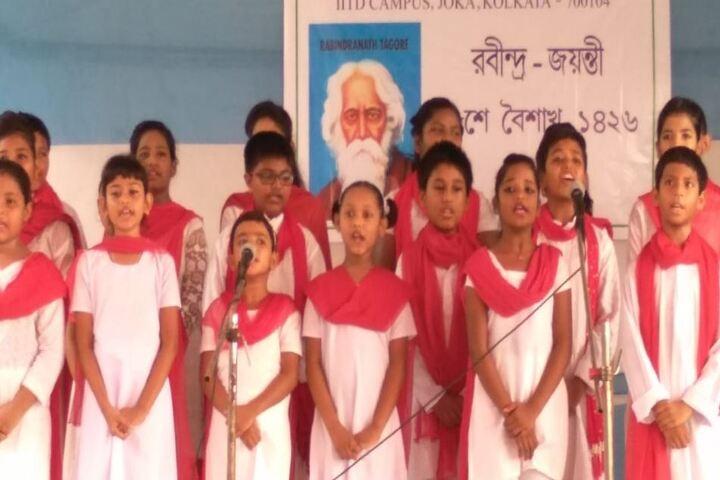 Ideal Mission School-Singing