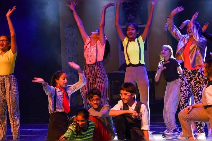 Aditya Birla World Academy - Dancing Activity
