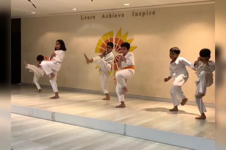 Aditya Birla World Academy - Karate Class