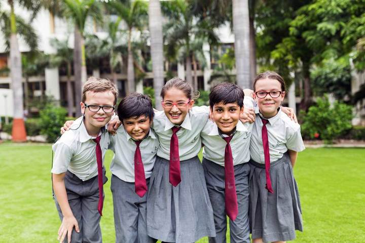 School Students in Funny Moments