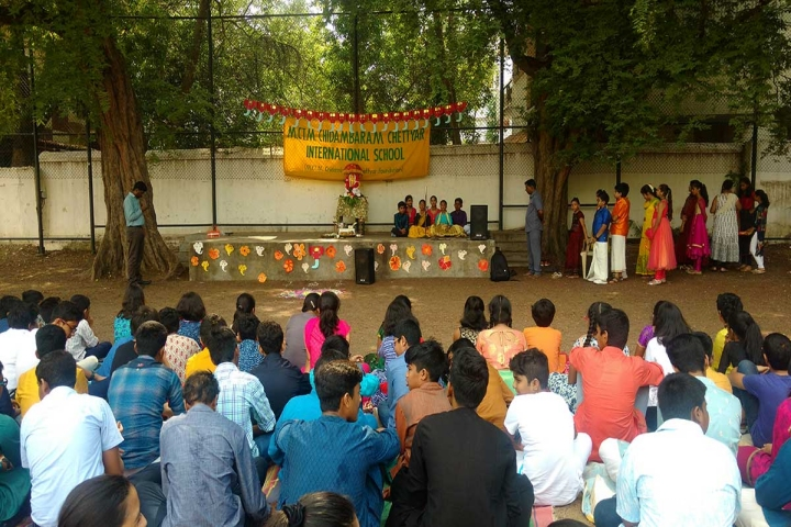 M.C.T.M Chidambaram Chettyar International School-Festival Celebration