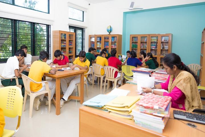 M.C.T.M Chidambaram Chettyar International School-Library