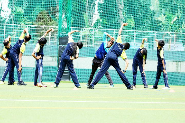 Mainadevi Bajaj International School-Yoga