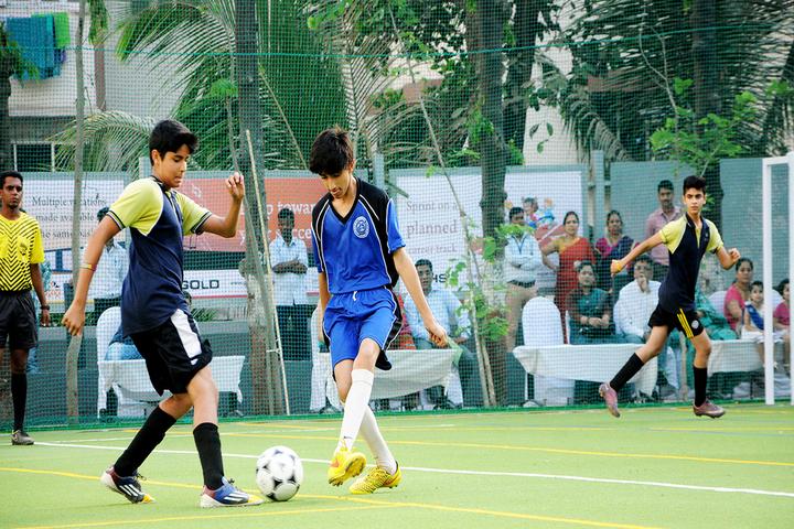 Mainadevi Bajaj International School-Football