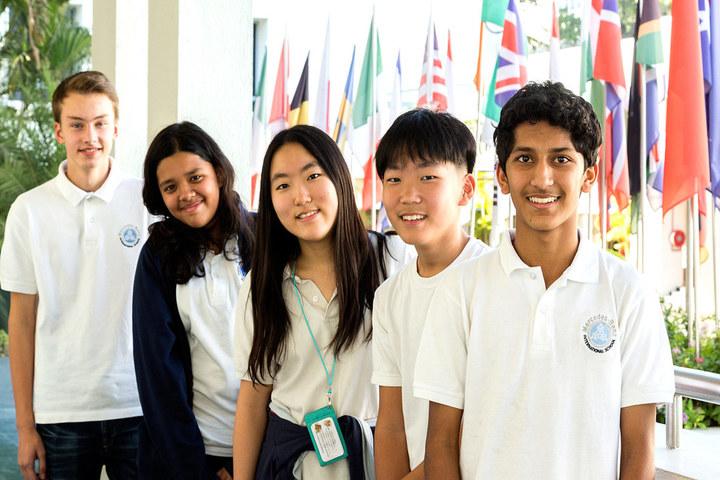 Mahindra International School-School Students