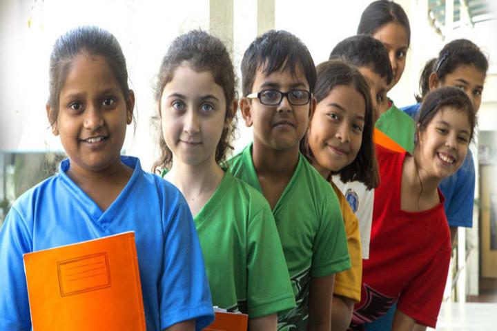 Mahindra International School-Students