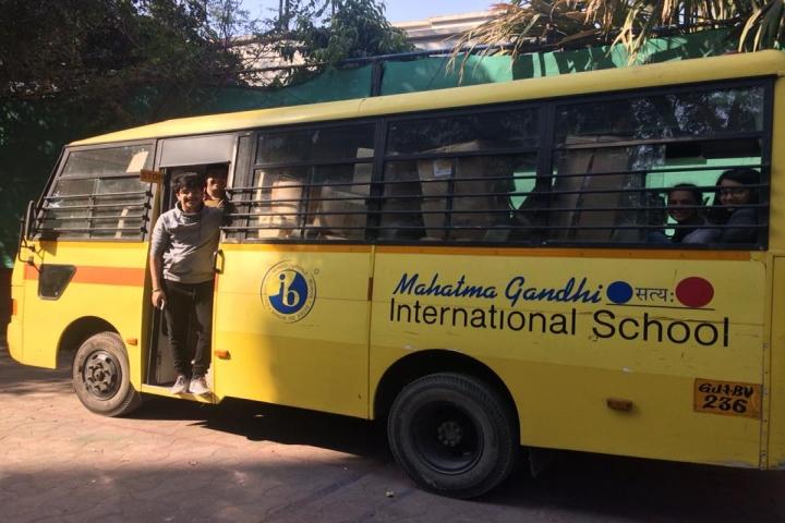 Mahatma Gandhi International School-Transport
