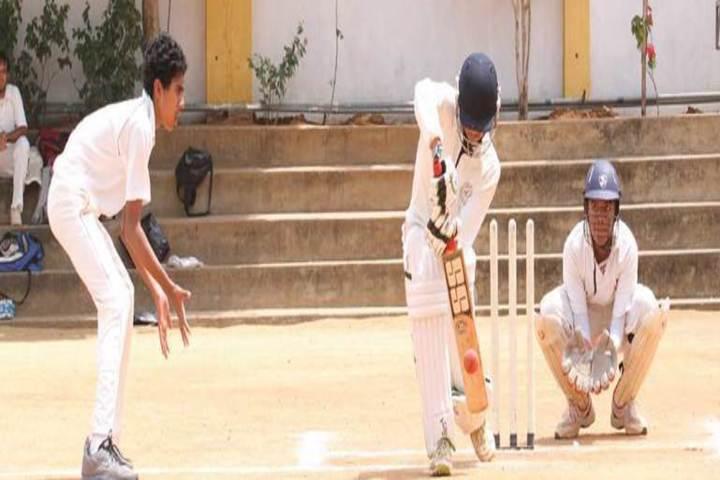 CHIREC International School-Cricket Match