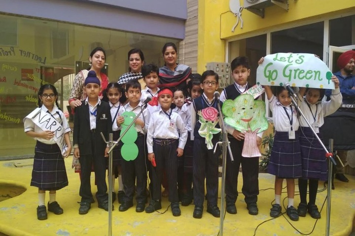 Cambridge International Foundation School-Green Day