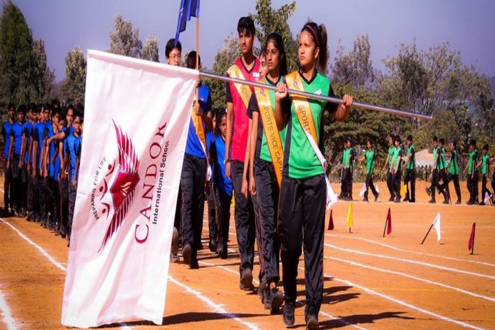 Candor International School-March past