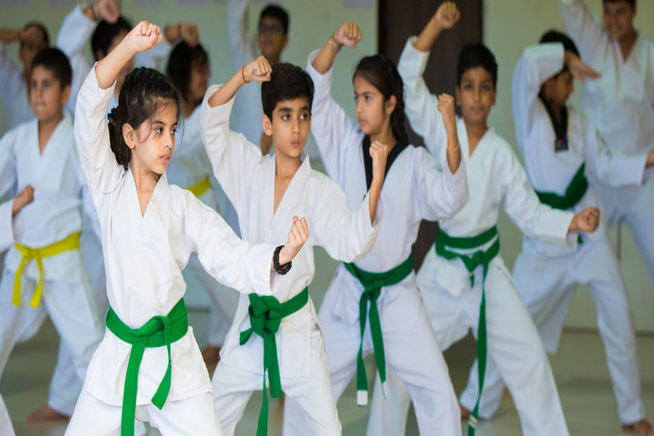 D Y Patil International School-Karate