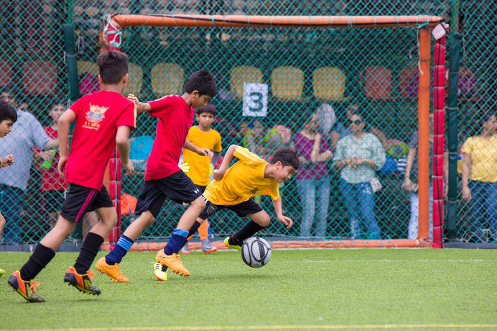 D Y Patil International School-Football