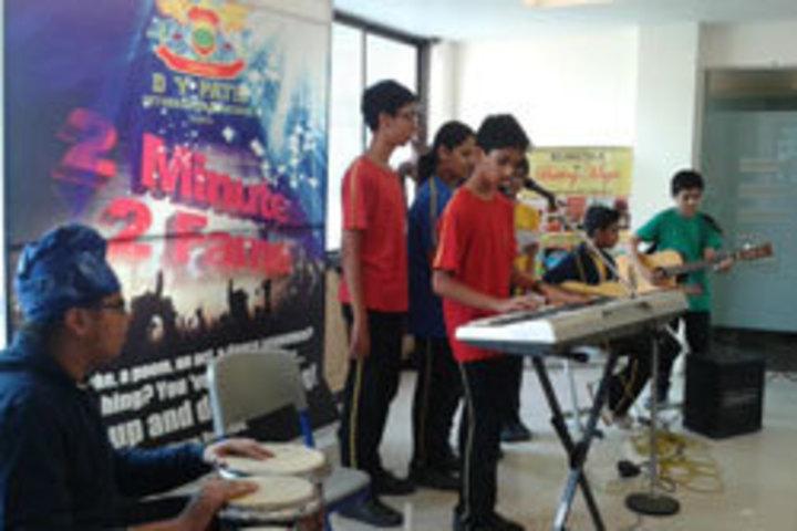 D Y Patil International School-Music Room