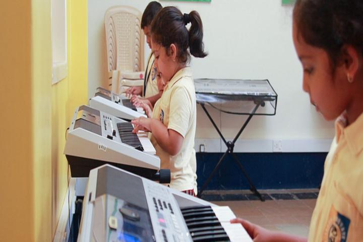 Don Bosco International School-Music